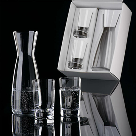 Incentives, set carafe with 2 tumblers